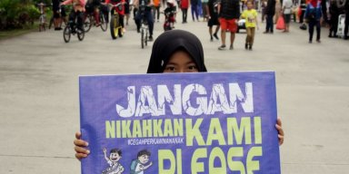 AES31 Saying No to Child Marriage in Indonesia