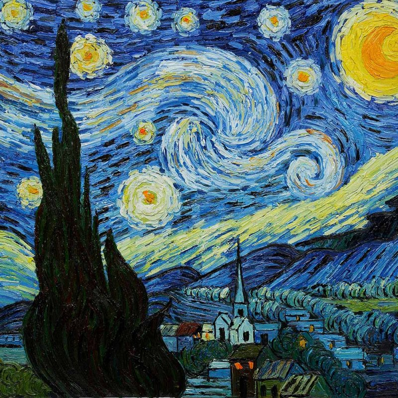 AES142 Starry Night