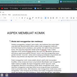 Dokumentasi Pengerjaan Proyek Mandiri (Lisan)