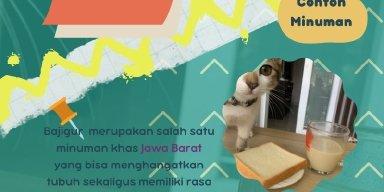 Infografis Santan-less Bajigur
