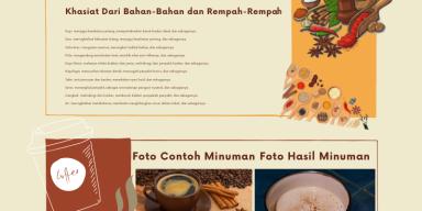 Infografis - Proyek: Makanan/Minuman Khas